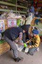 Boys in the market, Sary-Tash