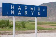 Řeka Naryn