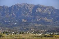 Pohled do kopců Kósu