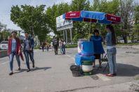 Street selling, Bishkek