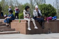 On the street, Bishkek