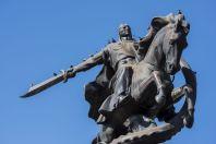 Manas, sculptural complex, Bishek