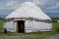 Yurt near Burana, Tokmok