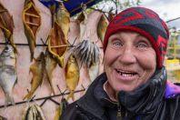 Prodej ryb, Balykchy
