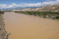 Řeka Naryn u Kazarmanu