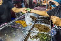 Prodej hmyzu, Bangkok