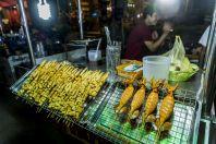 Street food, Vientiane