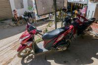 Motorbike rent, Vangvieng
