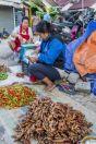 Morning market, Vangvieng