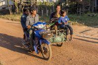 Family, unnamed village, Savannakhet Province