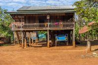 House, Bolaven plateau