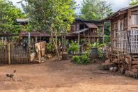Houses, Bolaven plateau