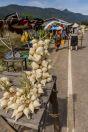 Sale of vegetables, Pakse