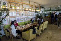 Restaurace Tawlet Ammiq, údolí Beqaa