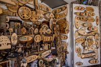 Souvenir shop, Cedars of God, Ariz