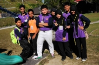Studenti v Tanah Rata
