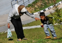 Děti v Tanah Rata