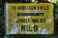 To Robinson falls
