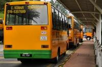 School bus - Tanah Rata