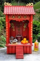 Chinese shrine - Cameron Highlands