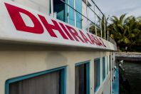 Dhiraasa Local Ferry - from Male to Huraa