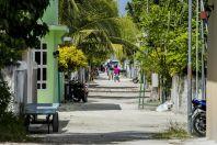 Street of Huraa Island