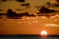 Západ slunce, Maledivy