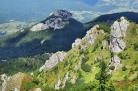 Maly Rozsutec Mt. from Velky Rozsutec