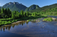 Dunajec river and Pieniny