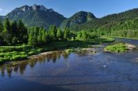 Dunajec river and Pieniny
