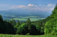 High Tatras from NP Pieniny