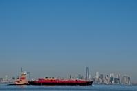 Dolní Manhattan ze Staten Island
