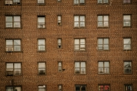 Apartment buildings, NYC