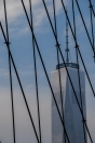 World Trade One from Brooklyn Bridge, NYC
