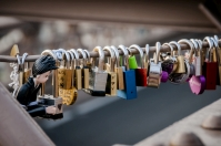 Brooklyn Bridge Love Locks, NYC