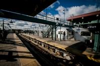 Subway stop, Bronx