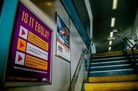 Ebola worries, SI Ferry, NYC