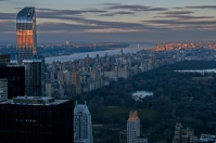 Central Park z Top of the Rock