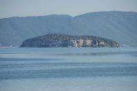 Golem Grad, Lake Prespa