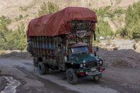 Kamion, údolí Kunar