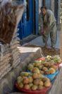 Prodej sušeného ovoce, údolí Gilgit