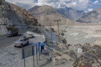 Soutok řeky Gilgit a Indus