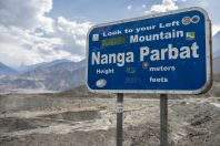 Nanga Parbat, Karakoram Highway