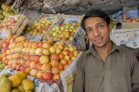 Prodej ovoce, Qalandarabad