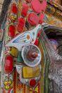 Kresby, na cestě mezi Faisalabad a Thal