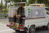 On the way between Islamabad and Abbottabad