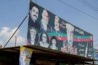 Pakistan Peoples Party, on the way between Islamabad and Abbottabad