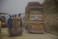 On the way between Battagram and Swat