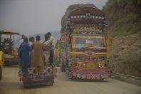 On the way between Battagram and Swat