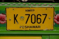 Peshawar, na cestě do Swat